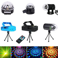 Laser Stage Projector Light Club Party LED Disco DJ Crystal Ball Effect Lighting
