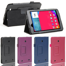 "Stand Folio PU Leather Case Flip Fit Cover For LG G Pad 7 7.0"" V400 V410 US Ship"
