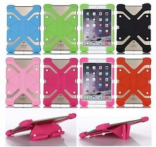 """Shockproof Soft Silicone Scalable Stand Back Cover Cases For 7""""~7.9"""" Tablet PC"""