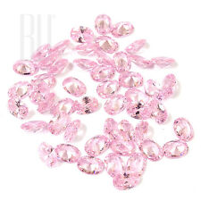 Pink Color Cubic Zirconia AAA Quality Calibrated Size Oval Shape gemstones