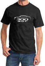 Chrysler 300 SRT SRT8 Classic Outline Design Tshirt NEW FREE SHIP