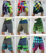 STRETCH mens boardshorts QUICK DRY shorts swim sport beachwear sz 30 32 34 36 38