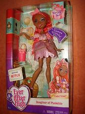 """Ever After High - """"CEDAR WOOD"""" Doll - Daughter of PINOCCHIO - New in Box"""