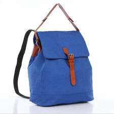 Retro High Quality Canvas Backpacks Schoolbag Bookbag Casual Travel Bag