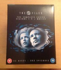 The X Files Complete Series Seasons 1-9 & Movies 55 Disc Collection
