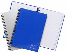 TIGER TWINWIRE A4 A5 A6  A-Z INDEXED NOTEBOOK RULED PLAIN BOOK ADDRESS|TELEPHONE