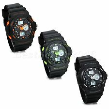 Casual Mens Boys Multifunction Alarm Date Stopwatch Electronic Sport Wrist Watch