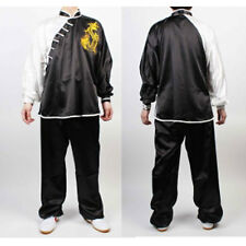 Dragon Wushu TaiChi KungFu uniform suit Tai Chi Chuan Uniforms Kung Fu Black