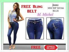 Colombian Levanta Cola Skinny  jeans Brazilian butt lift  push up  M1166
