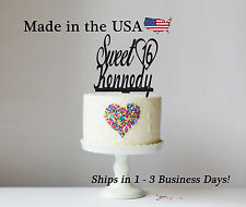 Sweet 16 Cake Topper, Personalized Cake Toppers, Acrylic, Birthday Party, LT1022