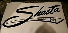 SHASTA Since 1941 Vinyl Decal Sticker Vintage Camper xtra  large several colors