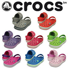 Crocs Kids Crocband Sandals Clogs Unisex Sandals Shoes Different Colours NEW