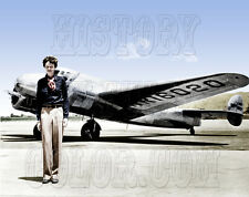 Amelia Earhart pilot airplane aviation color photo -GPN-2002-000211