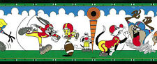 Bugs Bunny Childrens Wallpaper Border Blue Yellow Kids Imperial TTFS2003B