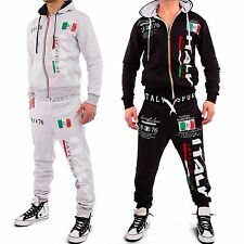Men's Italia Trackies Tracksuit Tracksuit Jogging Suit Leisure Suit