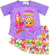 NEW Sz 5-10 PYJAMAS SHOPKINS BOYS GIRLS SUMMER SLEEPWEAR PJ PJS TOP TEE GIFT