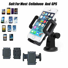 Universal Windscreen Mount car Holder Long 360°Rotating Cradle For Mobile Phones