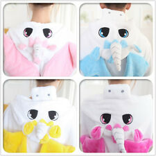 Adult&Kid Pajamas Kigurumi Cosplay Animal Costume Onesie Sleepwear Unicorn4