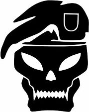 Call of Duty Black Ops COD Skull vinyl sticker decal U Pick Size & Color