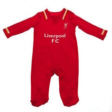 Official Liverpool FC Baby Home Kit Red Sleeper/Sleepsuit - Ships from the USA!