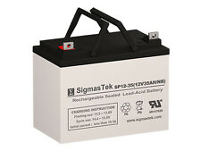 Leoch Battery LP12-35 AGM / GEL U1 Battery Replacement by SigmasTek