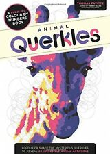 Animal Querkles: A Puzzling Colour-by-numbers Book            (Paperback)