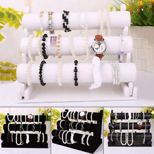 Bracelet Watch Gift Show Display Bangle Bar Holder Stand Jewelry 3 Tier