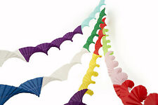4 SUPERIOR THICKER CREPE PAPER RETRO VINTAGE STYLE CHRISTMAS GARLANDS RNM