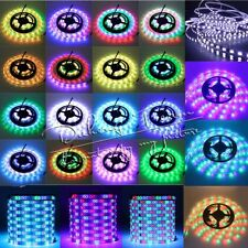 3528 5050 5630 SMD Stripe 300LED RGB White LED Strip Light Tape XMAS Home Lamp