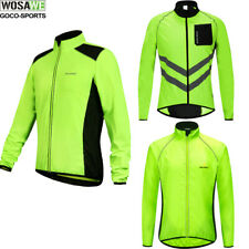 Green+Black Sports Bike Bicycle Riding Cycling Windproof Coat Jacket Wind Storm