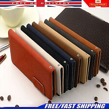 Suede Leather Wallet Flip Case Cover Book FOR Apple iPhone 5 6 SE 6Plus 6S New