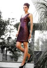 LB Classy Short Sequinned Women's Evening Prom Cocktail Party Dress