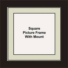 NEW Square Picture Frame - Grey Mount Made in UK Best and Unique Photo Frames