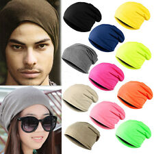 Knit Warm Unisex Oversized Women Winter Men Beanie Slouch Hat Cap Ski Crochet