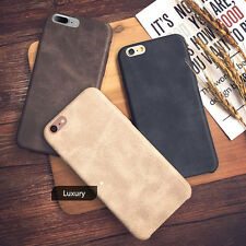 Hot Luxury Ultra-thin PU Leather Back Skin Case Cover For Apple iPhone 7/6S Plus
