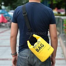 5L Waterproof Backpack Dry Bag Pouch Boating Kayaking Sports Camp Hiking DM R8L2