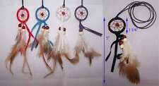 Mini Dream Catcher Native Pride Necklaces Handmade (NPNL13 ^)