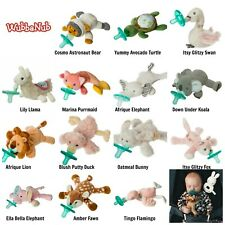 Mary Meyer WUBBANUB Soothie Pacifier Plush Animal Holder Baby *Choose Design NEW