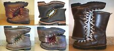 MEN'S MOUNTAINEERING WORK BOOTS GRONELL CAMP 7 MONTBLANC RAICHLE SKECHERS VASQUE