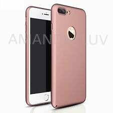 Luxury Hard PC Slim Back Cover Skin Touch Case For Apple iPhone 7 & 7 Plus