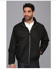NWT$80 U.S. Polo Assn. Men's Windbreaker Jacket Coat Fleece Lining Black M L XL