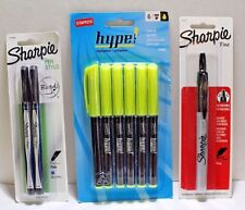 6 Pack Staples Hype! Pen-Style Highlighters – Yellow or Assorted