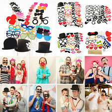 Photo Booth Props Lips Mask Moustache On A Stick Wedding Party Favor Decoration