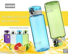 CARGEN CG800 800ML PC Portable Travel Drinking Bottle Water Cup with Lanyard