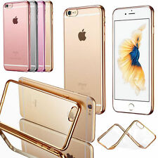 Ultra Thin Transparent Crystal Clear Soft Gel Case Cover For Apple iPhone 7 7+