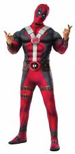 Deluxe Deadpool Adult Halloween Costume and Mask, Wade Wilson,  FREE SHIPPING!