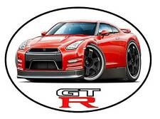 Nissan GT-R Exotic Car Vinyl Sticker Decal NEW FREE SHIPPING