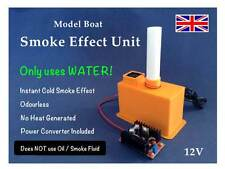 Model Boat Smoke Effect Unit V1 12v - Uses Water (No Oil / Smoke Fluid)