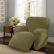 Maytex Collin Stretch Four Piece Recliner Slipcover