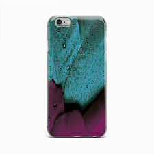 Tulip Leaf Water Drop Floral Hard Case for iPhone 4 4S 5 5S 5c SE 6 6s plus iPod
